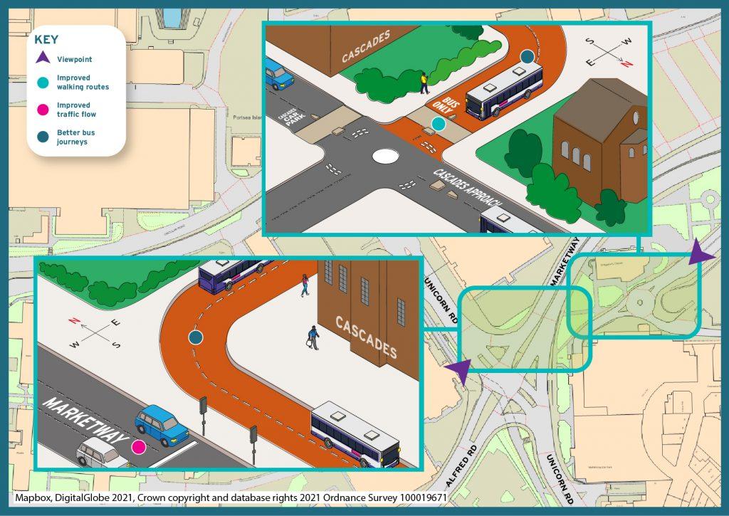 City centre north proposals