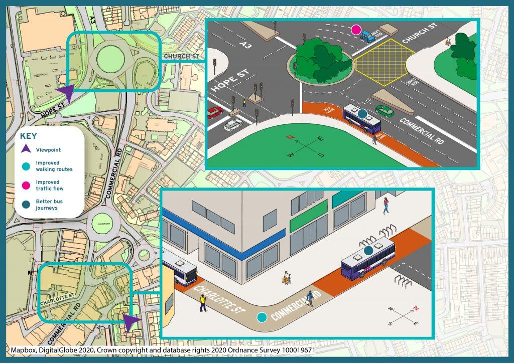 City centre proposals: Charlotte Street