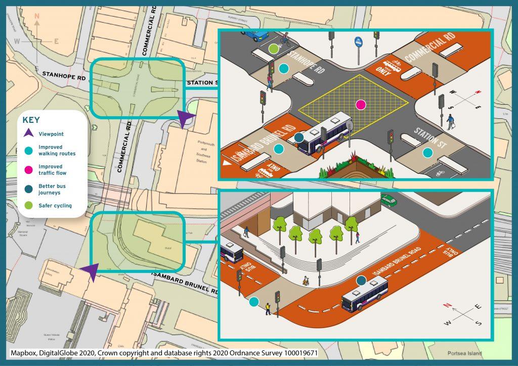 City centre south proposals