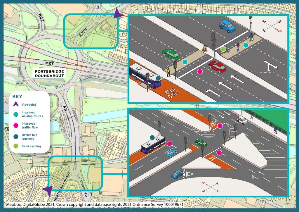 Portsbridge area proposals